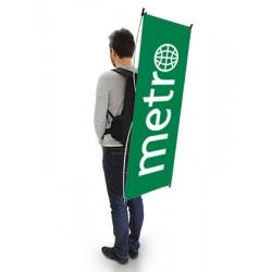 Bandeira Mochila X-Banner