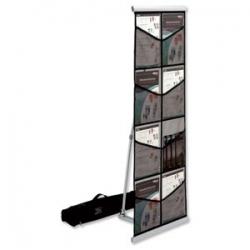 Porta-Folhetos Expo-Nylon A4 Duplo