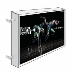 Caixa de Luz Dupla Directa Lateral - 80cm